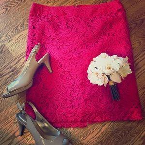 Fushia Pink Skirt